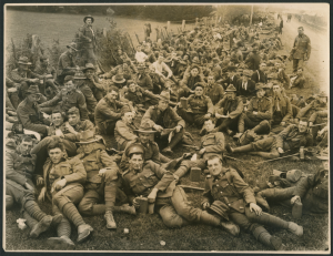 Figure 0: ANZAC troops