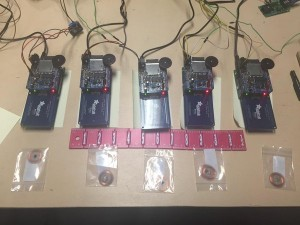 Figure 1. Replacement Arduino components for Acadia National Park RFID bird call exhibit.