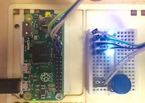 Figure 3. Raspberry Pi0 configured to support hdmi video Circuit credit: Stan Cohen