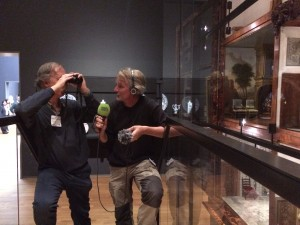 Press attention for the Bird Watch Event at the Rijksmuseum.