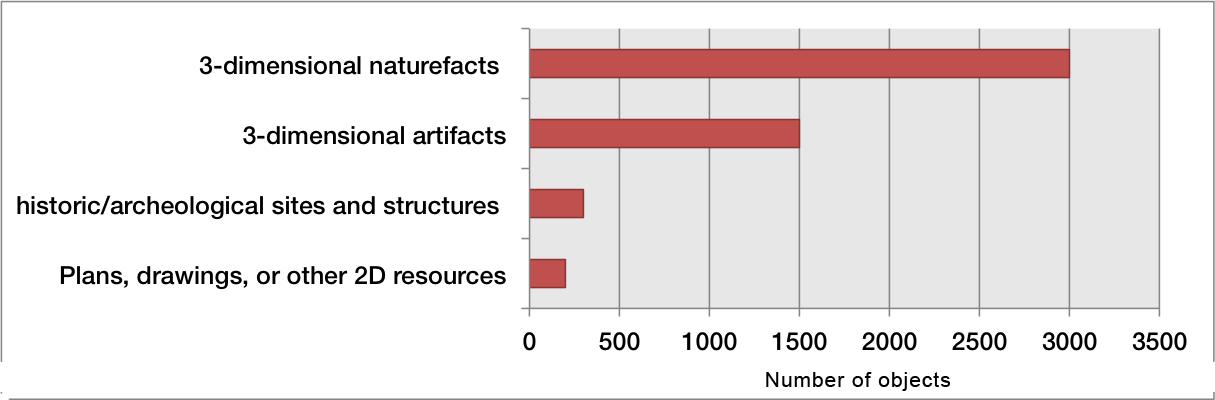 Figure 4: Focus of 3D digitization efforts (n=48)