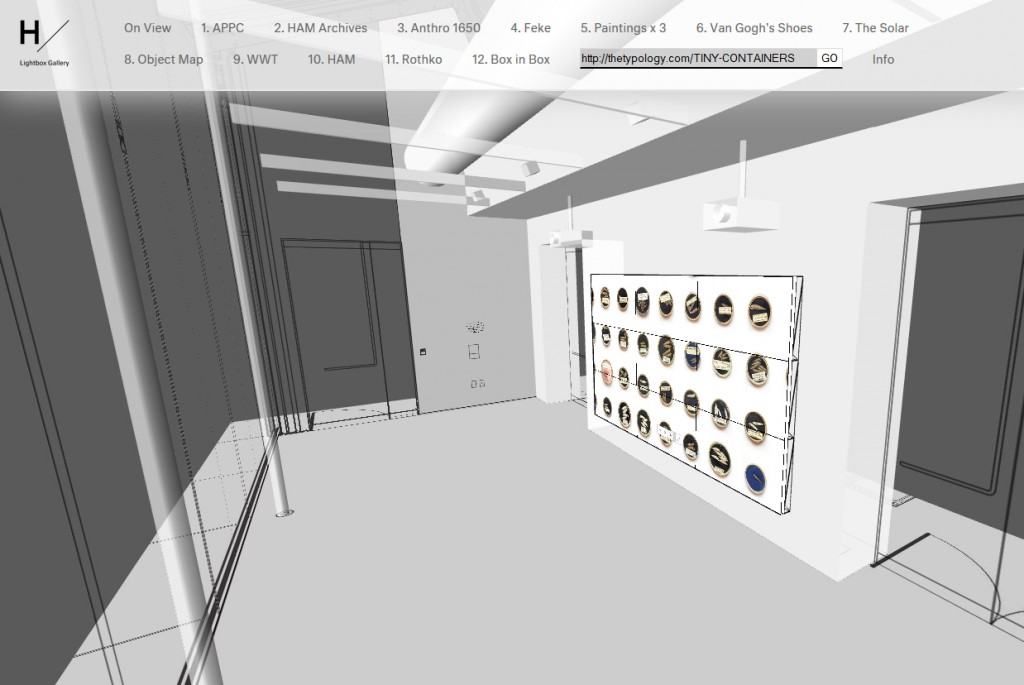 Users can select, view, and interact with featured projects or display and interact with their projects in the virtual gallery