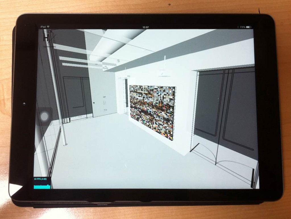 We are working on developing the tablet version of the virtual Lightbox Gallery