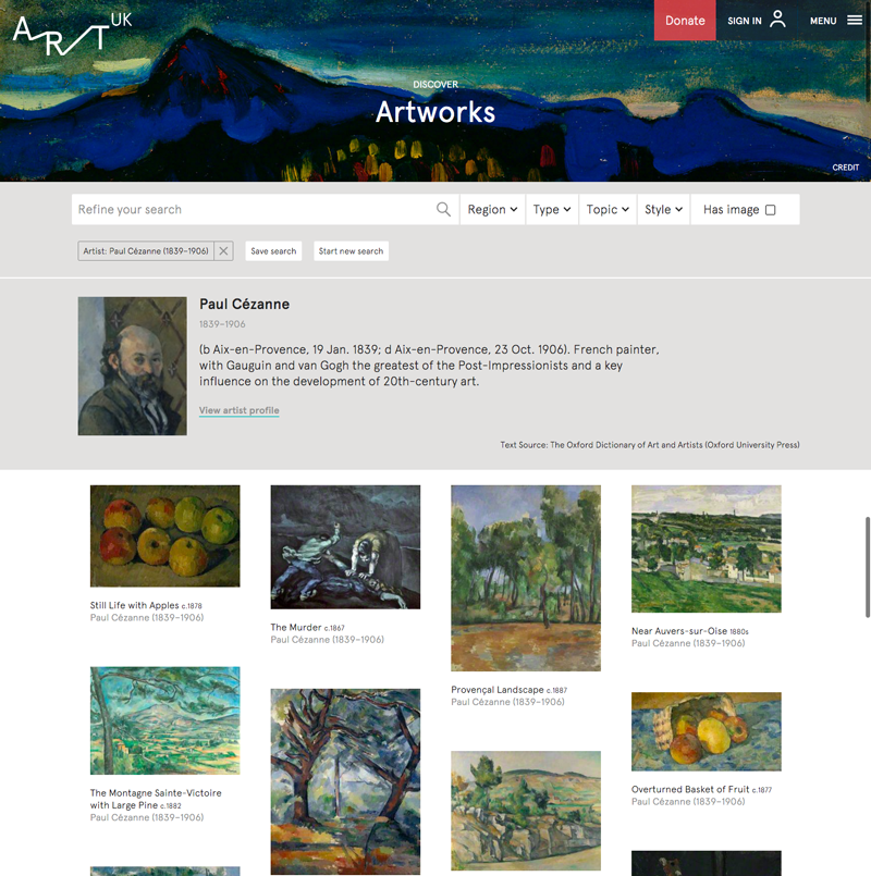 cezanne-search-results